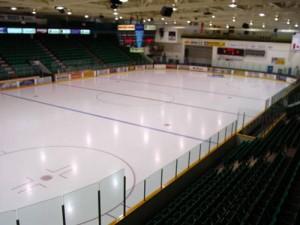 Yardmen Arena Olympic ice pad (Photo: Quinte Sports & Wellness Centre website)